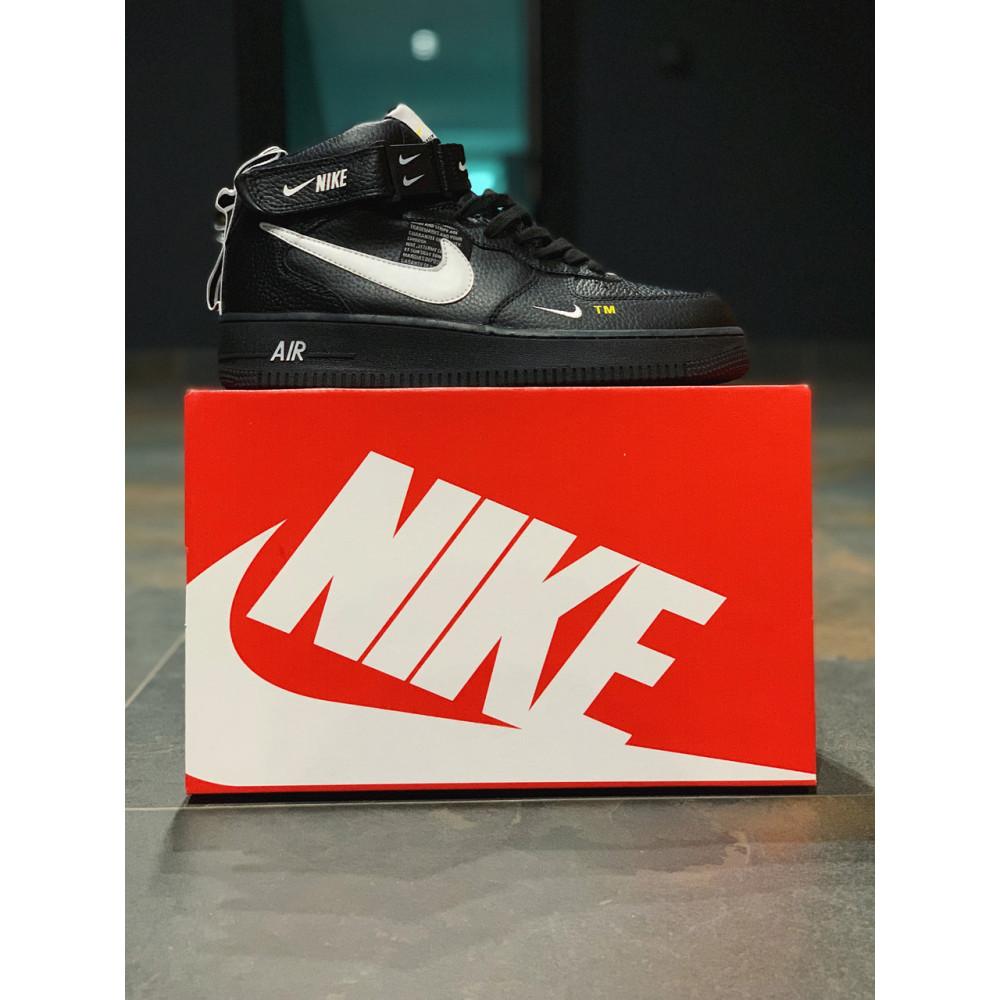 Демисезонные кроссовки мужские   - Кроссовки  высокие натуральная кожа  Nike Air Force Найк Аир Форс (40,41,42,44,45) 3