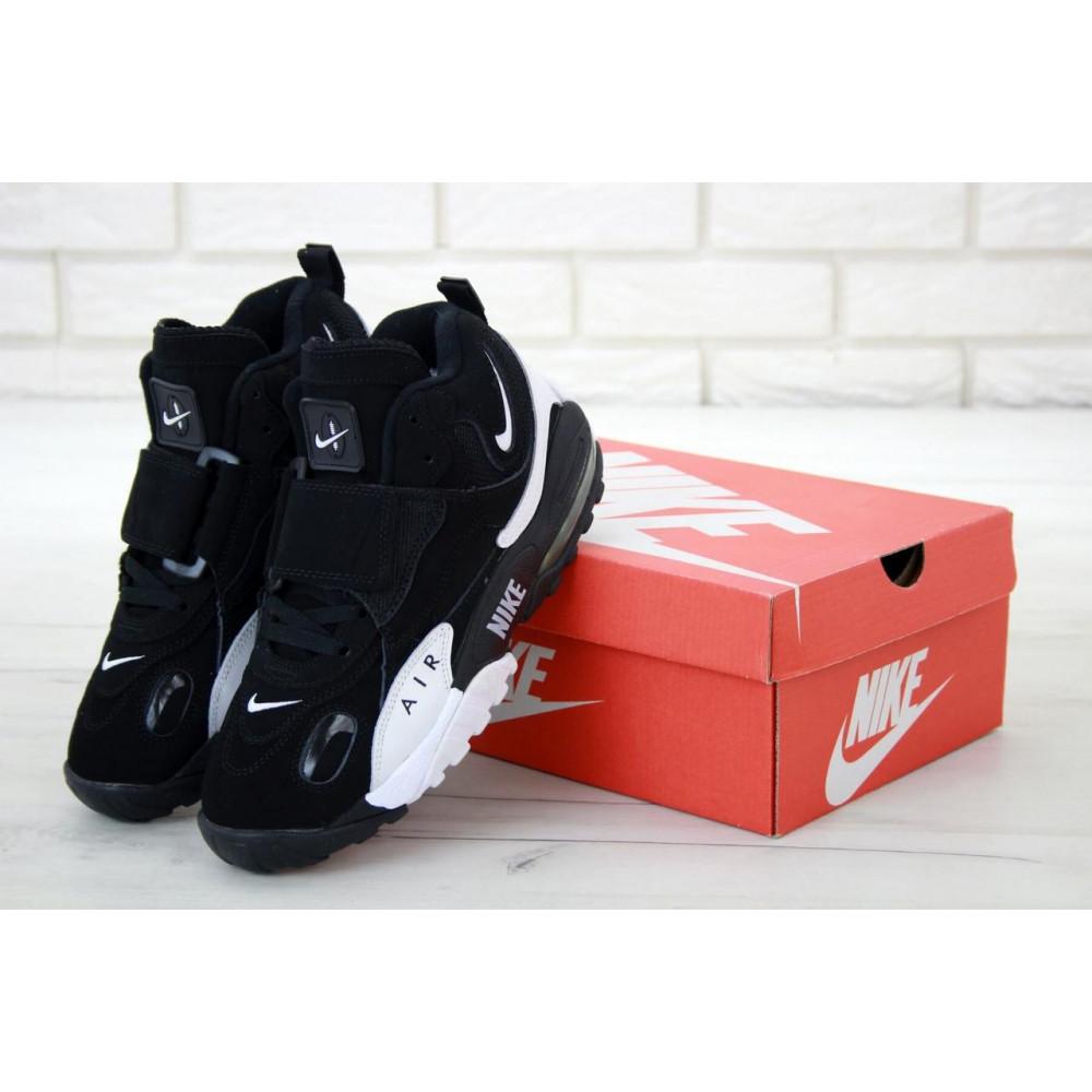 Демисезонные кроссовки мужские   - Мужские кроссовки Nike Air Max Speed Turf в черно-белом цвете