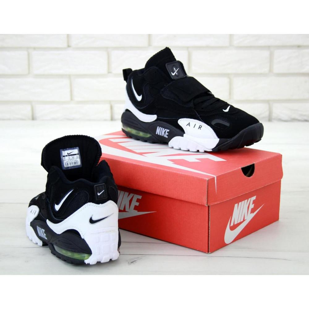Демисезонные кроссовки мужские   - Мужские кроссовки Nike Air Max Speed Turf в черно-белом цвете 4
