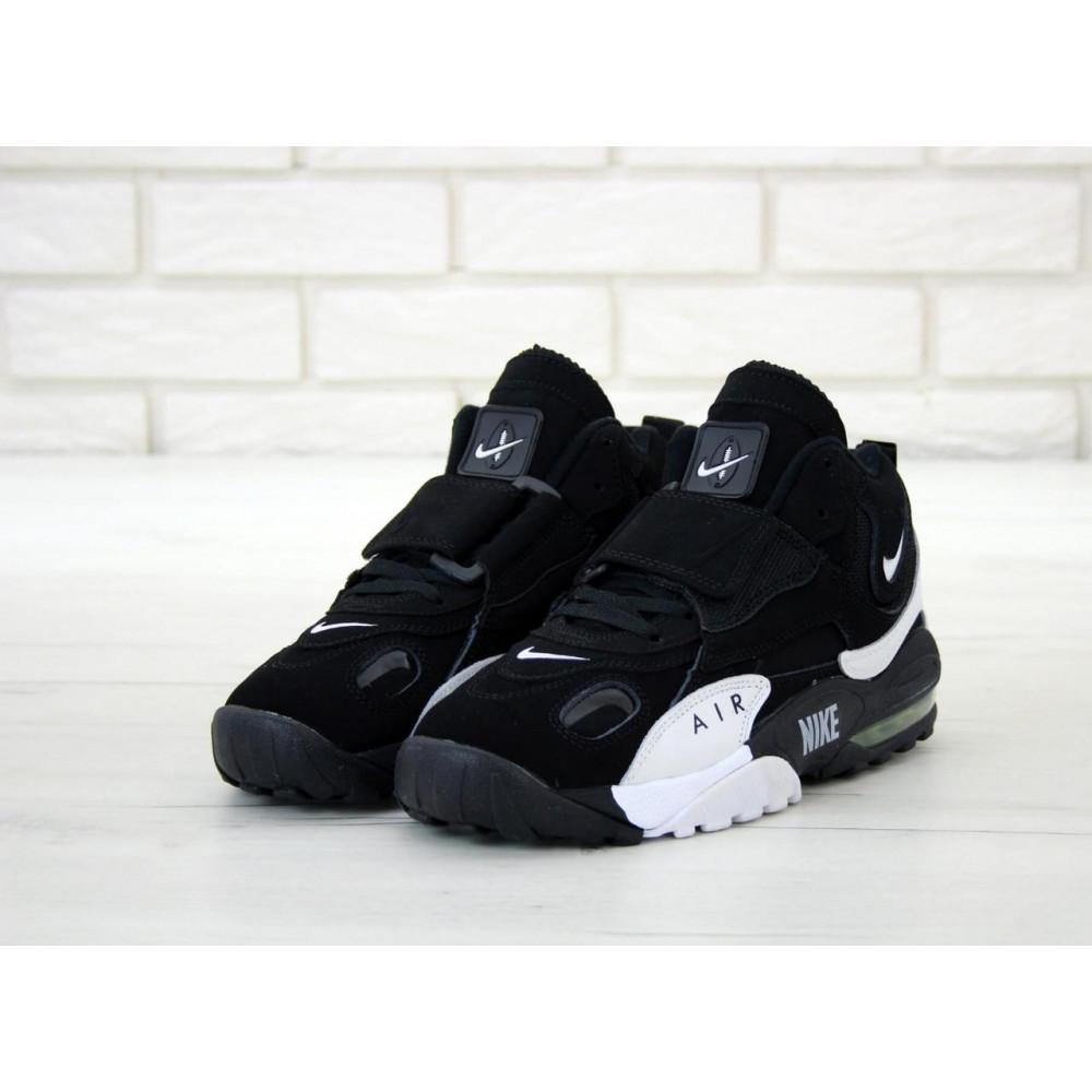 Демисезонные кроссовки мужские   - Мужские кроссовки Nike Air Max Speed Turf в черно-белом цвете 2