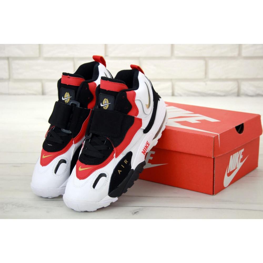 Демисезонные кроссовки мужские   - Мужские кроссовки Air Max Speed Turf черно-бело-красные