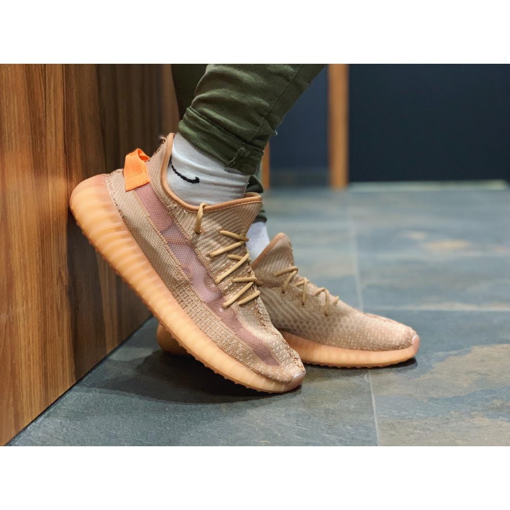 Беговые кроссовки мужские  - Кроссовки  Adidas Yeezy Boost 350 V2  Адидас Изи Буст   (41,43,45) 1
