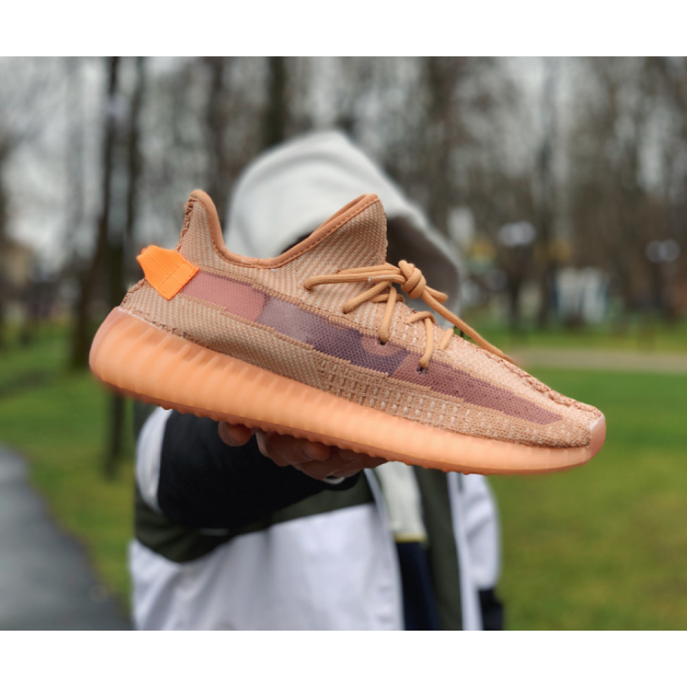 Беговые кроссовки мужские  - Кроссовки  Adidas Yeezy Boost 350 V2  Адидас Изи Буст   (41,43,45)