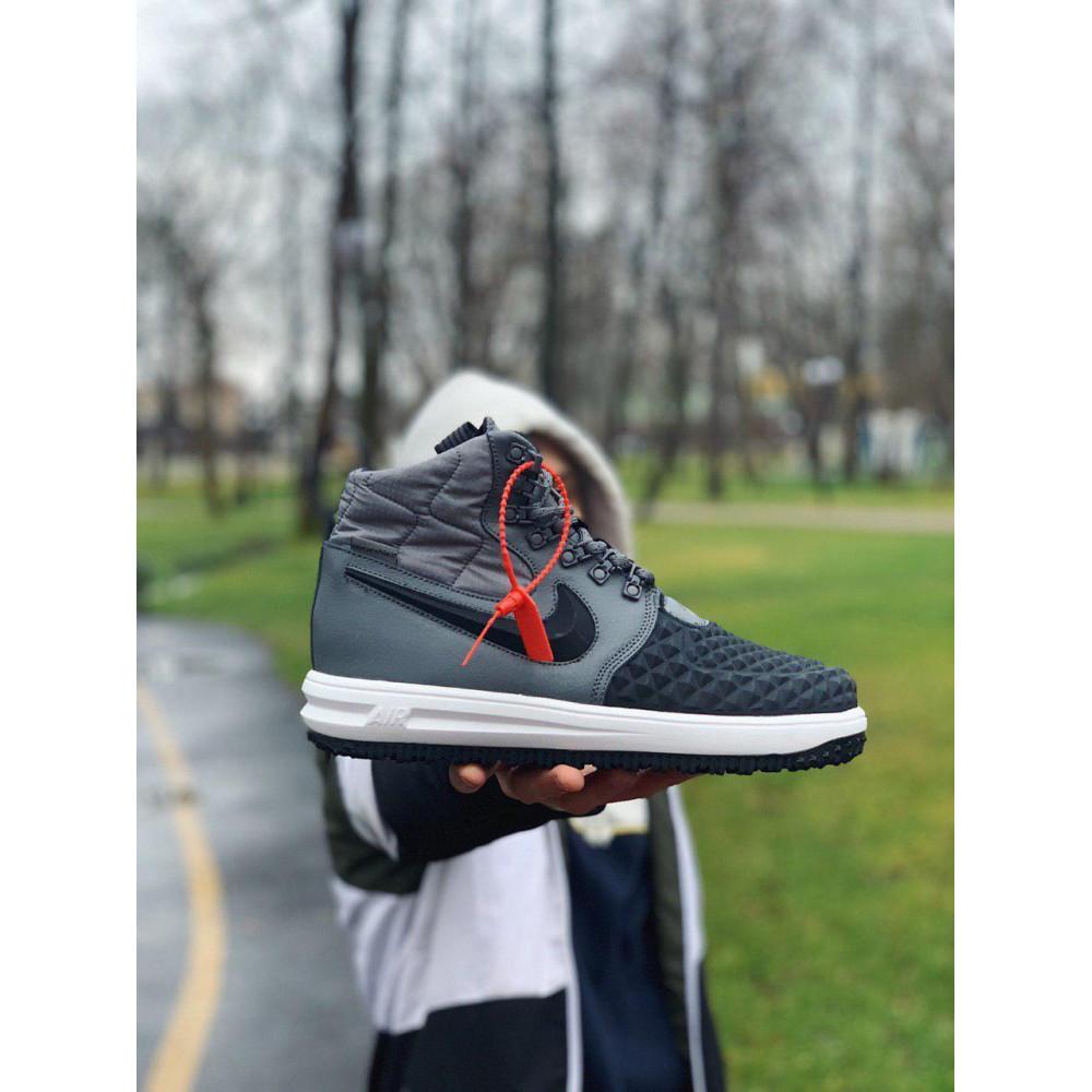 Демисезонные кроссовки мужские   - Кроссовки натуральная кожа Nike Lunar Force 1 Найк Лунар Форс (40,41,42,43,44,45) 8