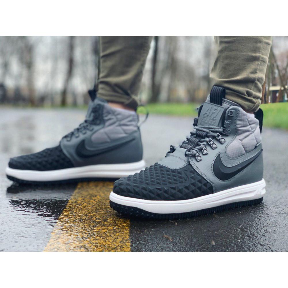 Демисезонные кроссовки мужские   - Кроссовки натуральная кожа Nike Lunar Force 1 Найк Лунар Форс (40,41,42,43,44,45)