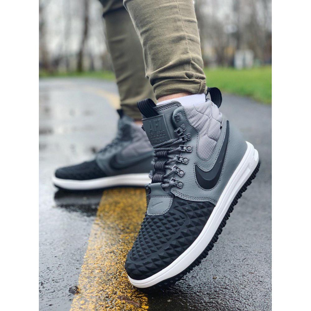 Демисезонные кроссовки мужские   - Кроссовки натуральная кожа Nike Lunar Force 1 Найк Лунар Форс (40,41,42,43,44,45) 6