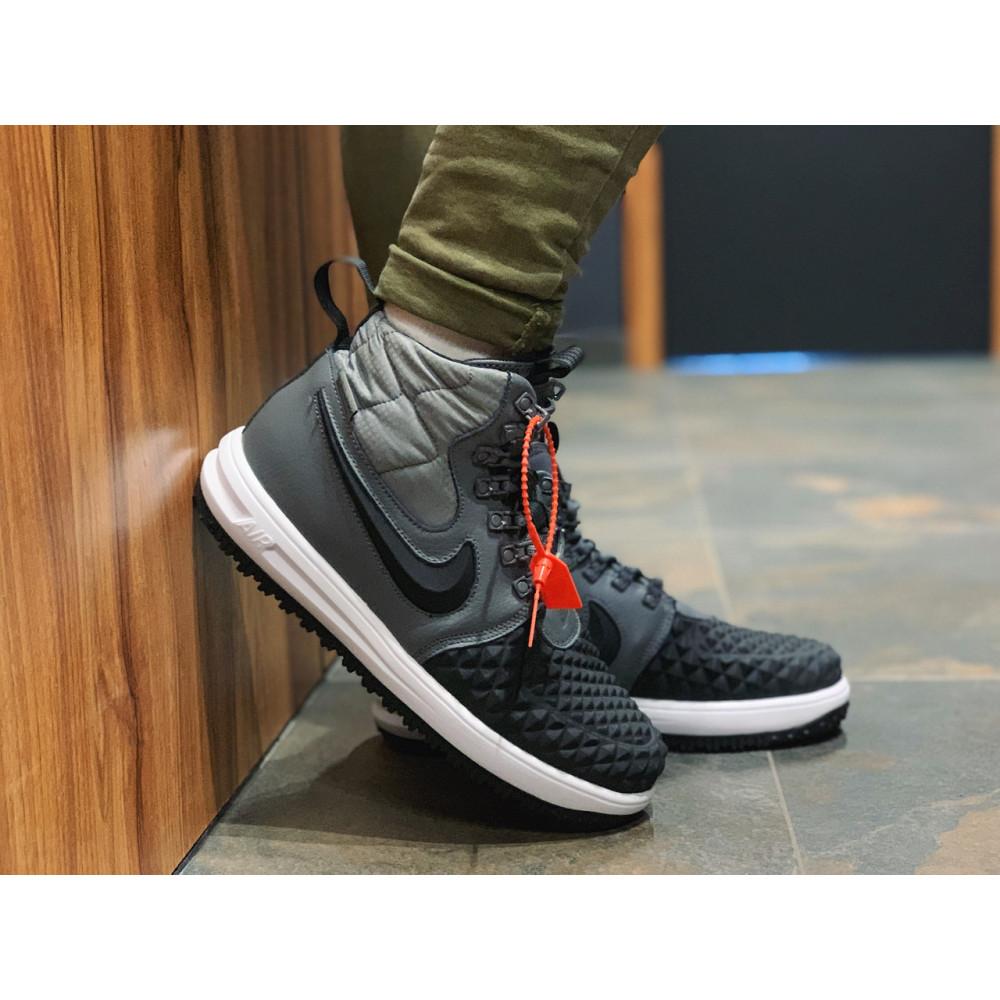 Демисезонные кроссовки мужские   - Кроссовки натуральная кожа Nike Lunar Force 1 Найк Лунар Форс (40,41,42,43,44,45) 3