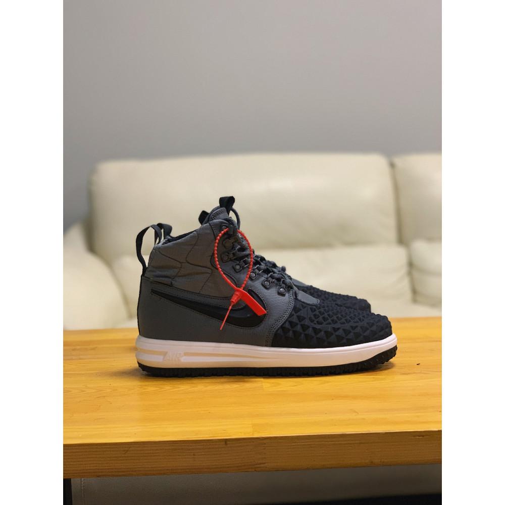 Демисезонные кроссовки мужские   - Кроссовки натуральная кожа Nike Lunar Force 1 Найк Лунар Форс (40,41,42,43,44,45) 2