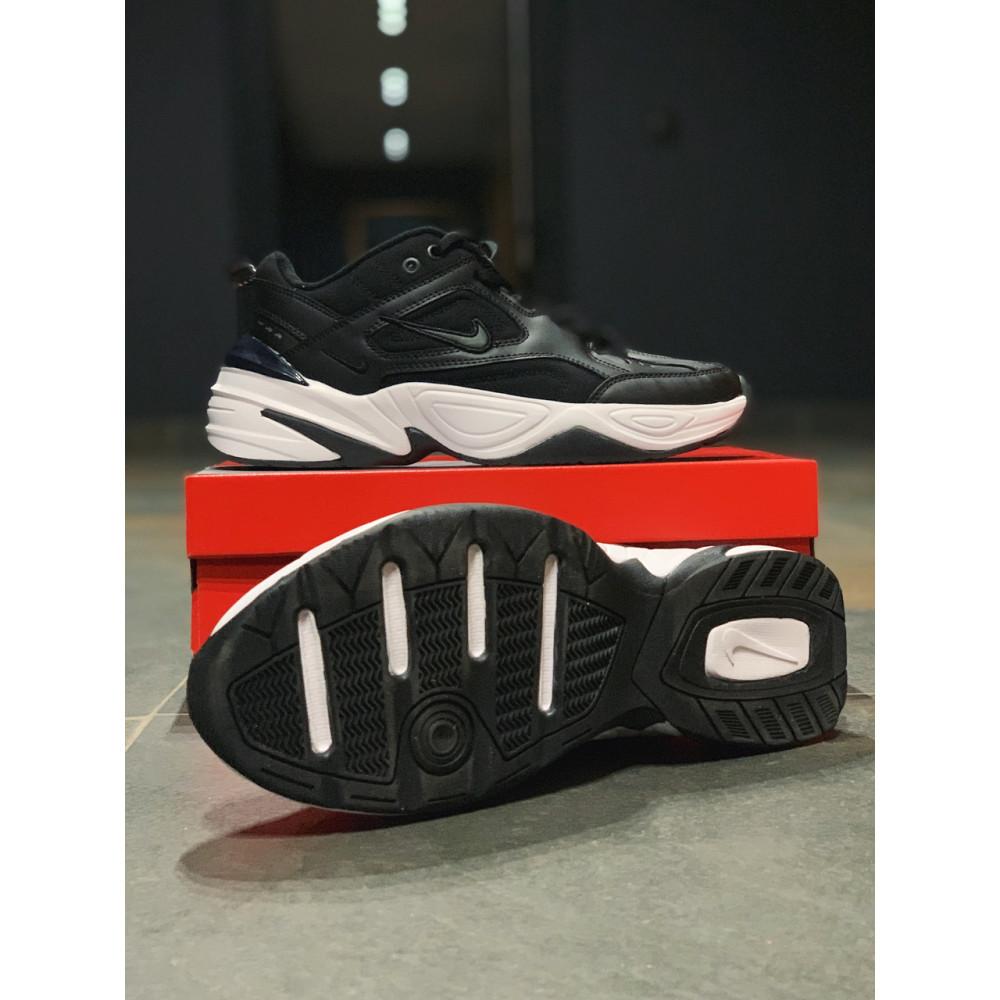 Демисезонные кроссовки мужские   - Кроссовки натуральная кожа Nike M2K Tekno Найк М2К Текно (41,42,43,44,45) 2