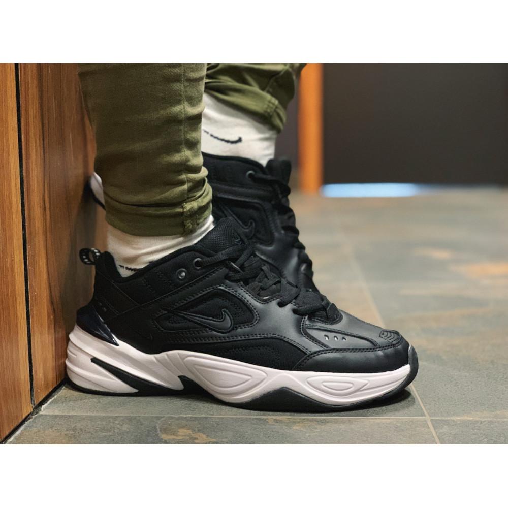 Демисезонные кроссовки мужские   - Кроссовки натуральная кожа Nike M2K Tekno Найк М2К Текно (41,42,43,44,45) 3