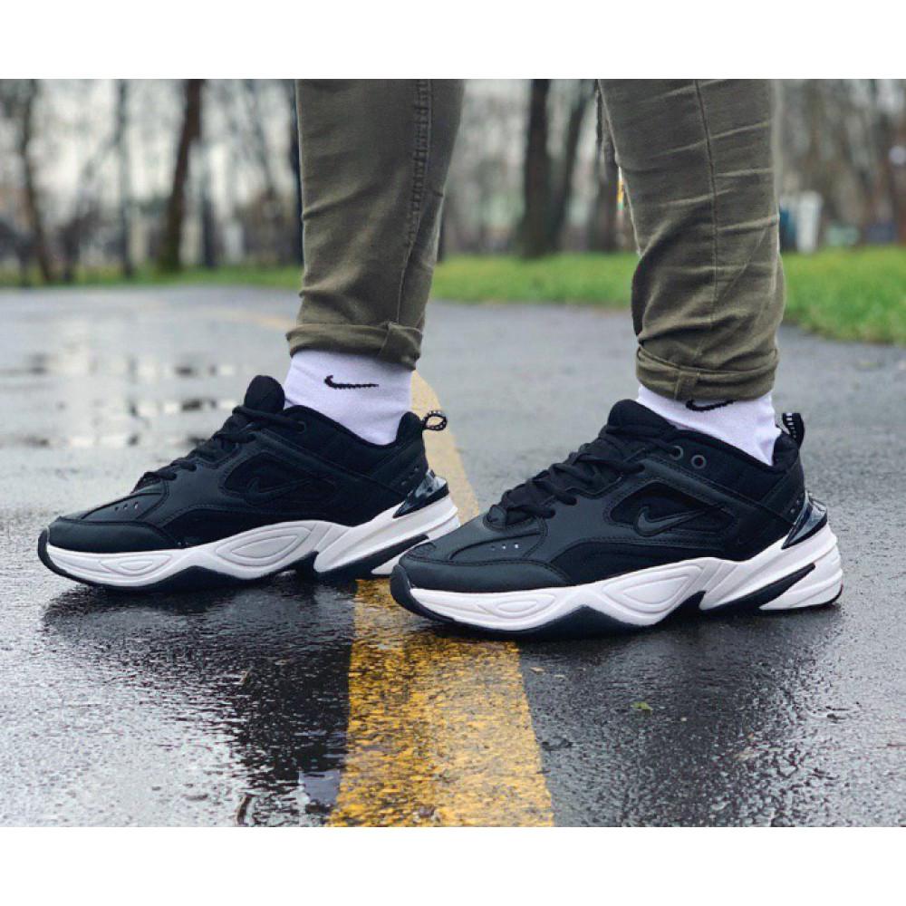 Демисезонные кроссовки мужские   - Кроссовки натуральная кожа Nike M2K Tekno Найк М2К Текно (41,42,43,44,45)