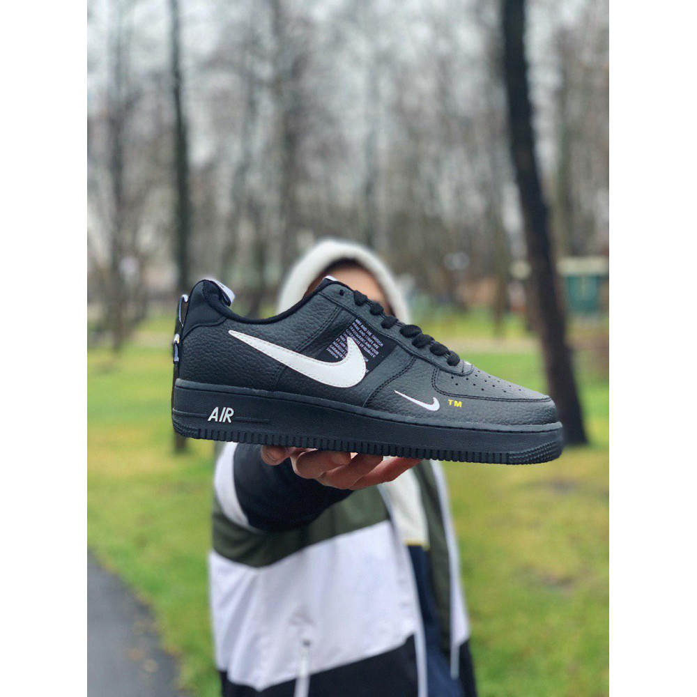 Демисезонные кроссовки мужские   - Кроссовки натуральная кожа Nike Air Force Найк Аир Форс (41,42,43,44,45) 8