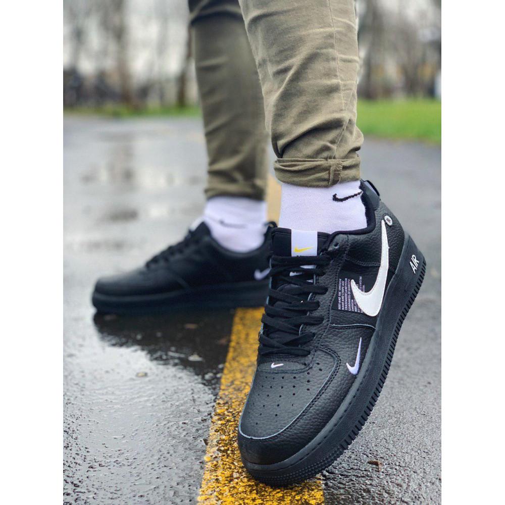 Демисезонные кроссовки мужские   - Кроссовки натуральная кожа Nike Air Force Найк Аир Форс (41,42,43,44,45) 7