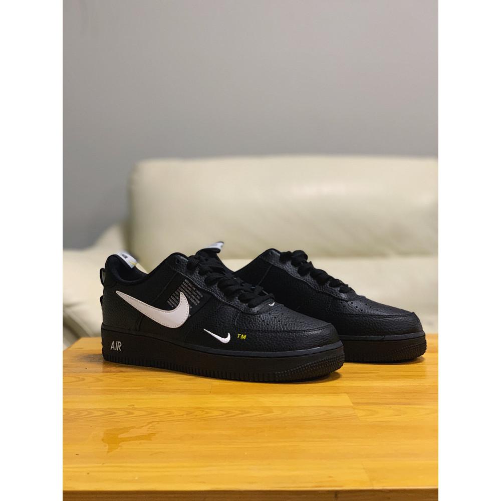 Демисезонные кроссовки мужские   - Кроссовки натуральная кожа Nike Air Force Найк Аир Форс (41,42,43,44,45) 4