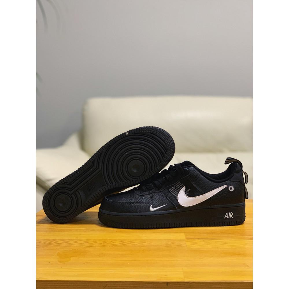 Демисезонные кроссовки мужские   - Кроссовки натуральная кожа Nike Air Force Найк Аир Форс (41,42,43,44,45) 2