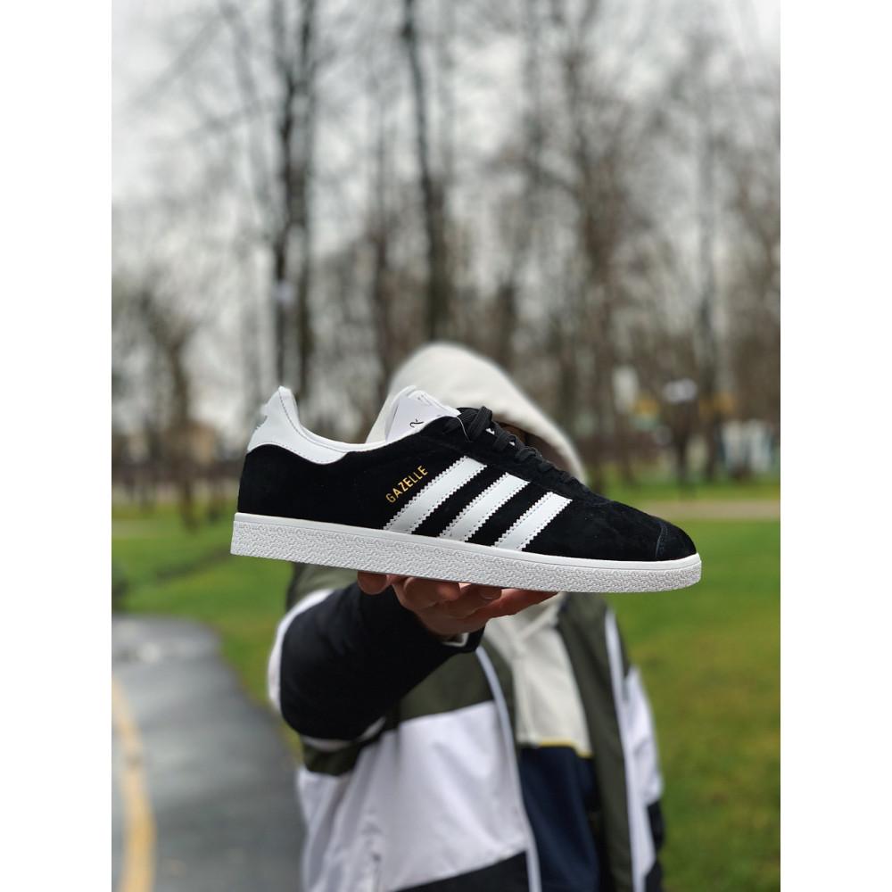 Демисезонные кроссовки мужские   - Кроссовки  натуральная замша Adidas Gazelle Адидас Газель (41,42,43,44,45) 8