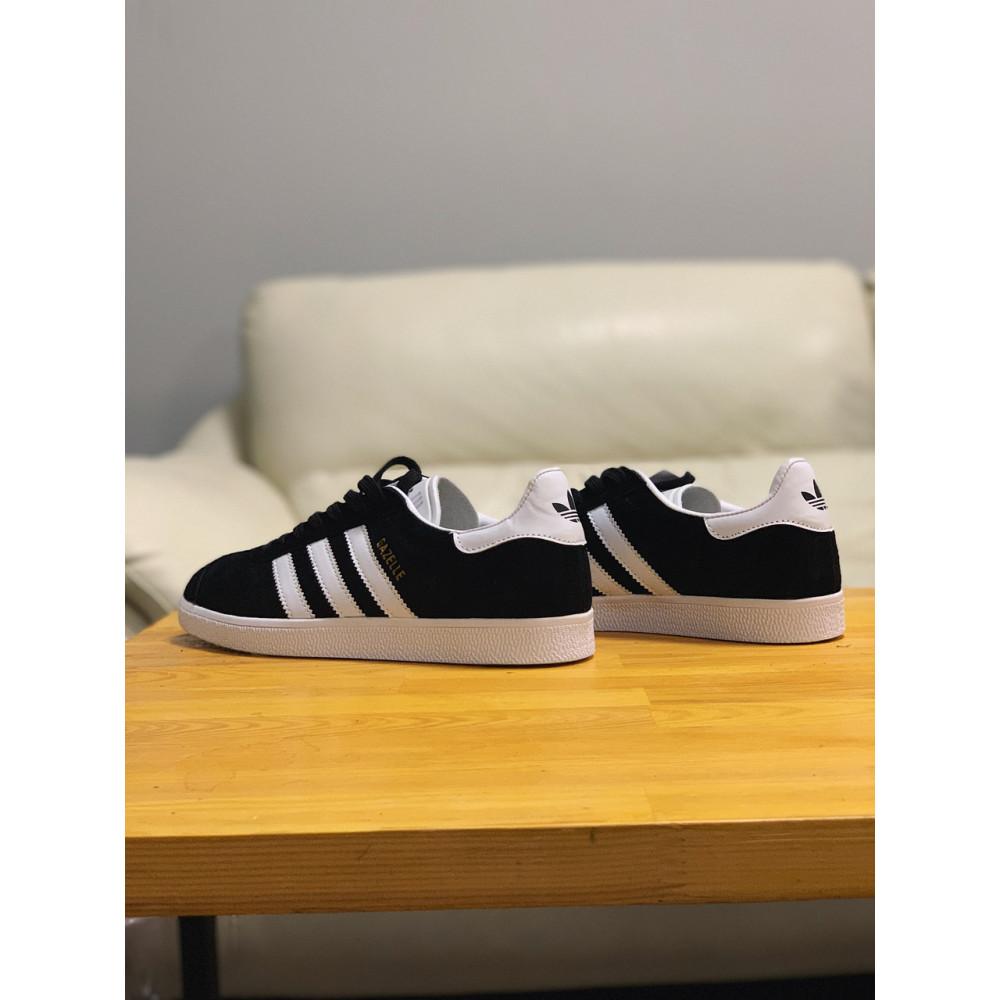 Демисезонные кроссовки мужские   - Кроссовки  натуральная замша Adidas Gazelle Адидас Газель (41,42,43,44,45) 2