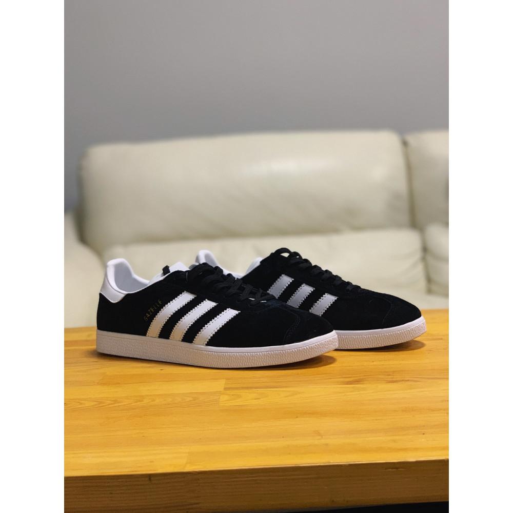 Демисезонные кроссовки мужские   - Кроссовки  натуральная замша Adidas Gazelle Адидас Газель (41,42,43,44,45) 4