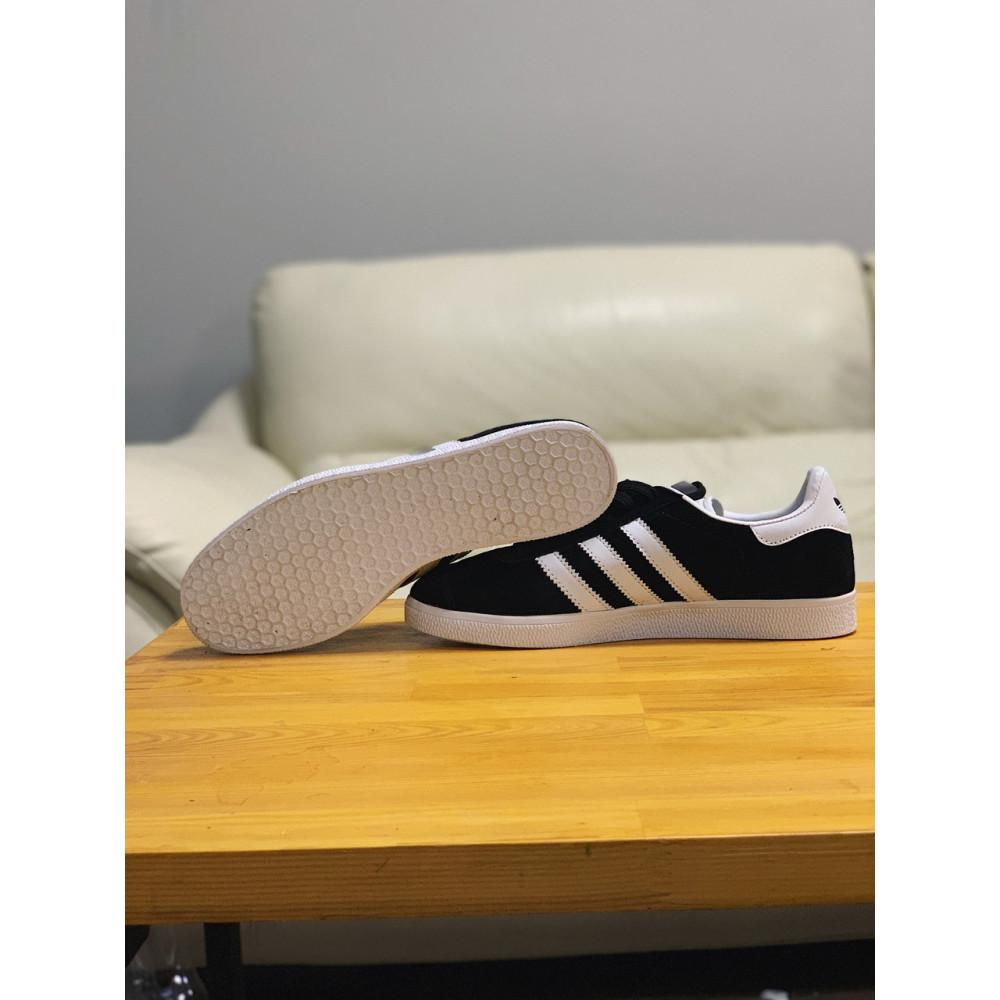 Демисезонные кроссовки мужские   - Кроссовки  натуральная замша Adidas Gazelle Адидас Газель (41,42,43,44,45) 3