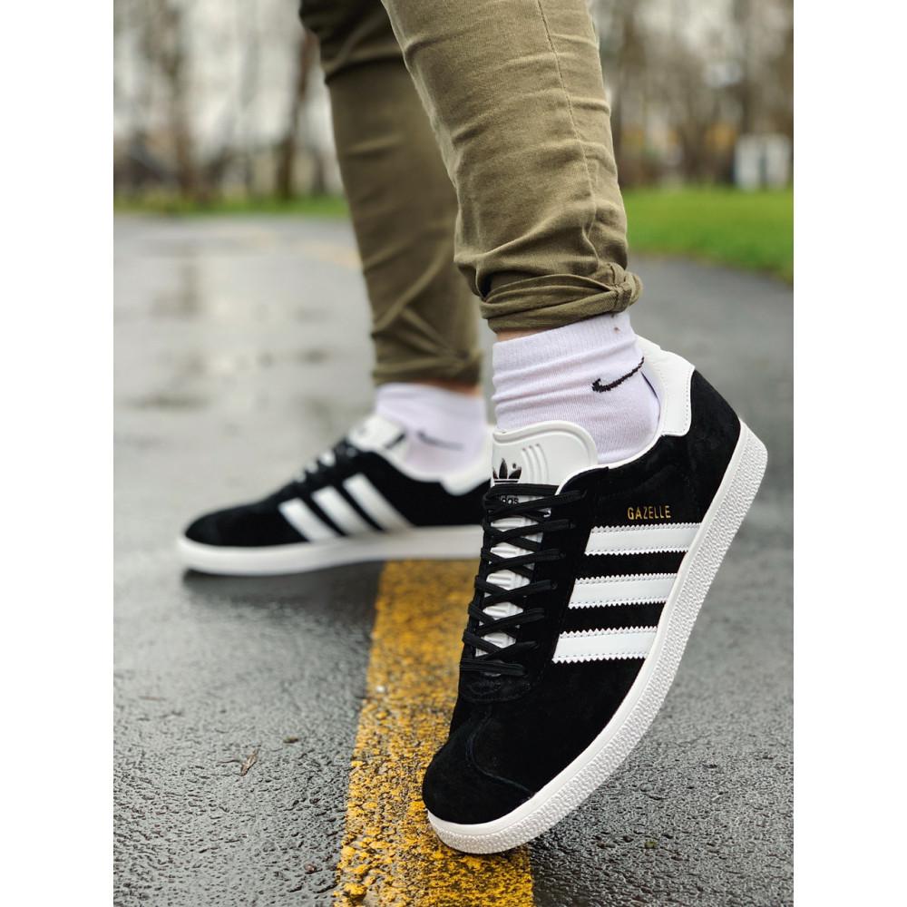 Демисезонные кроссовки мужские   - Кроссовки  натуральная замша Adidas Gazelle Адидас Газель (41,42,43,44,45) 7
