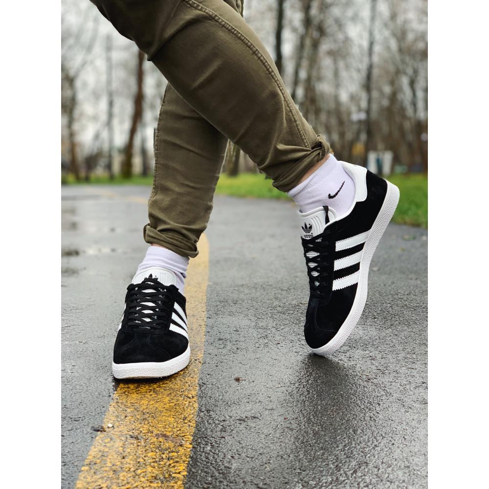 Демисезонные кроссовки мужские   - Кроссовки  натуральная замша Adidas Gazelle Адидас Газель (41,42,43,44,45) 9
