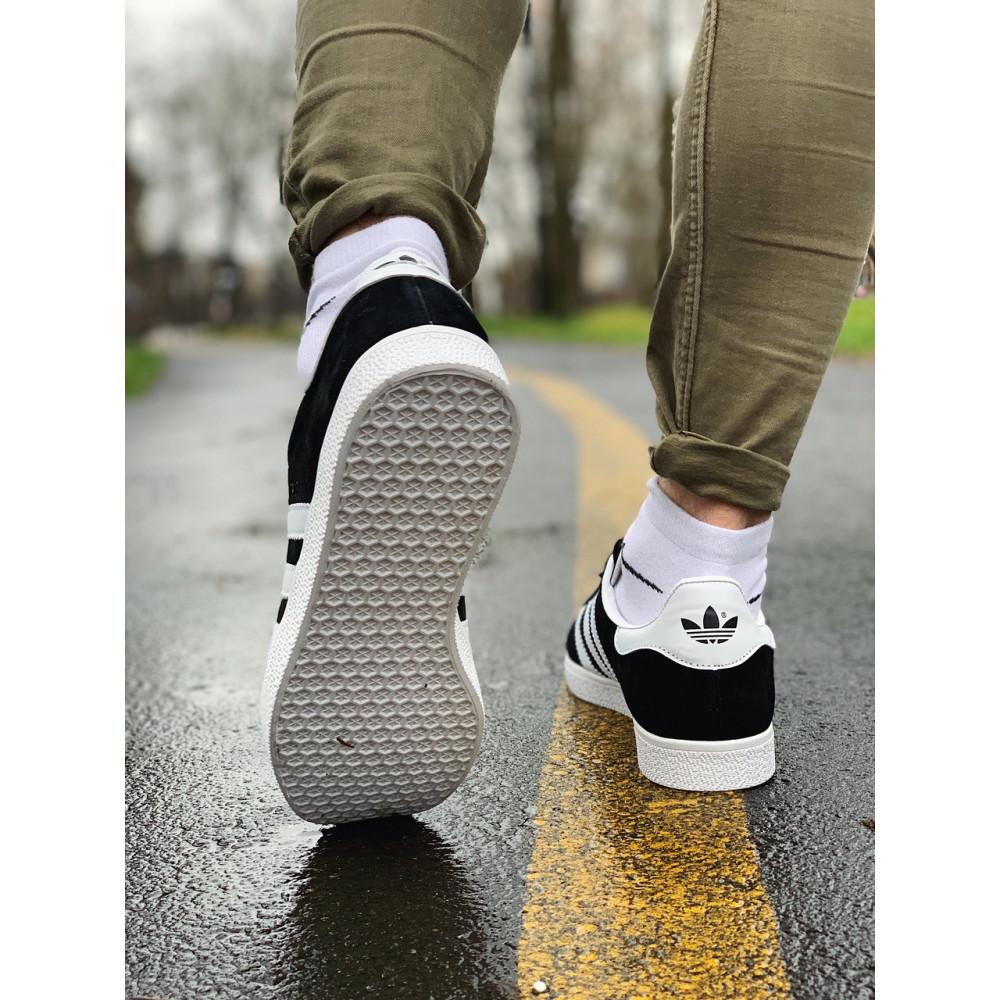 Демисезонные кроссовки мужские   - Кроссовки  натуральная замша Adidas Gazelle Адидас Газель (41,42,43,44,45) 6