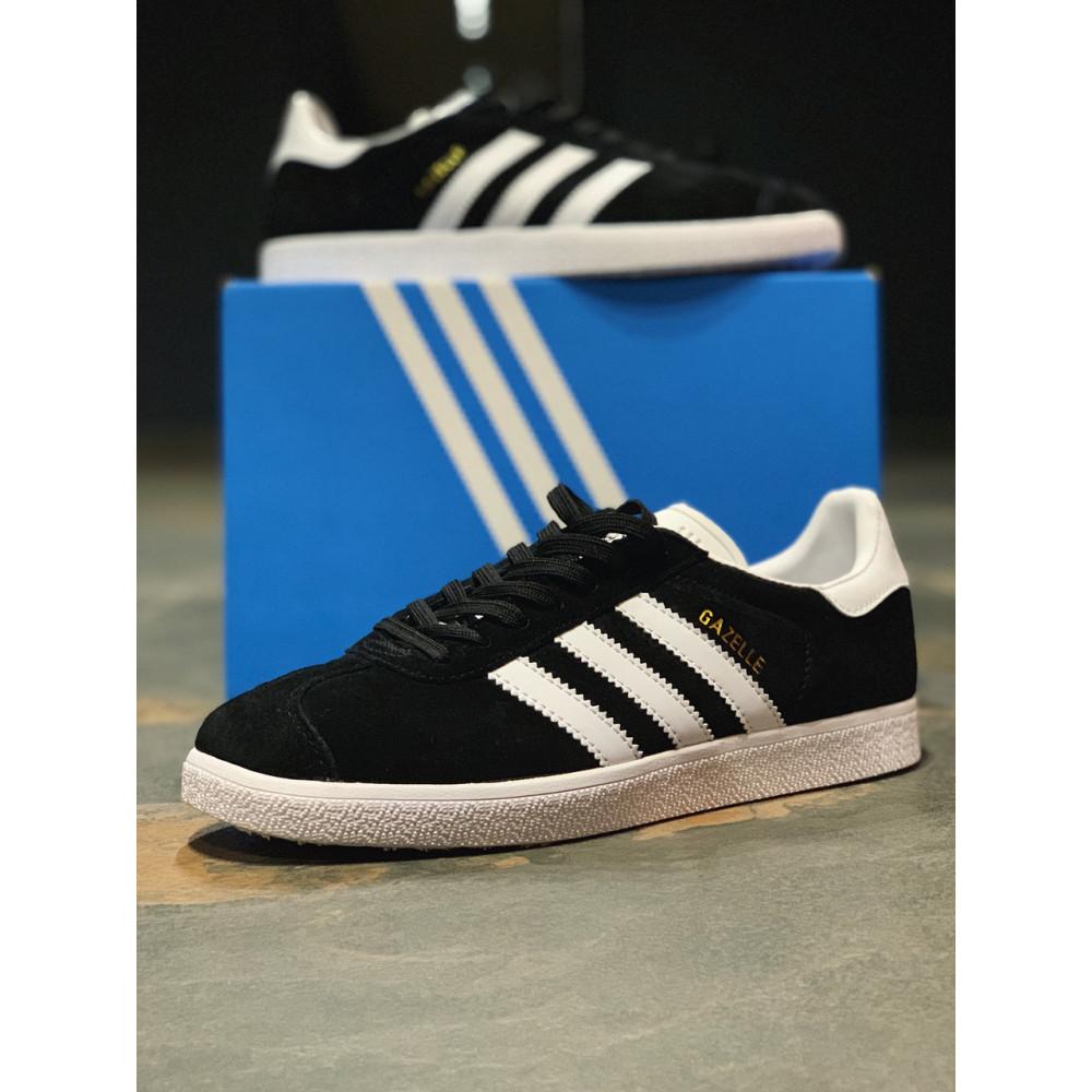 Демисезонные кроссовки мужские   - Кроссовки  натуральная замша Adidas Gazelle Адидас Газель (41,42,43,44,45) 1