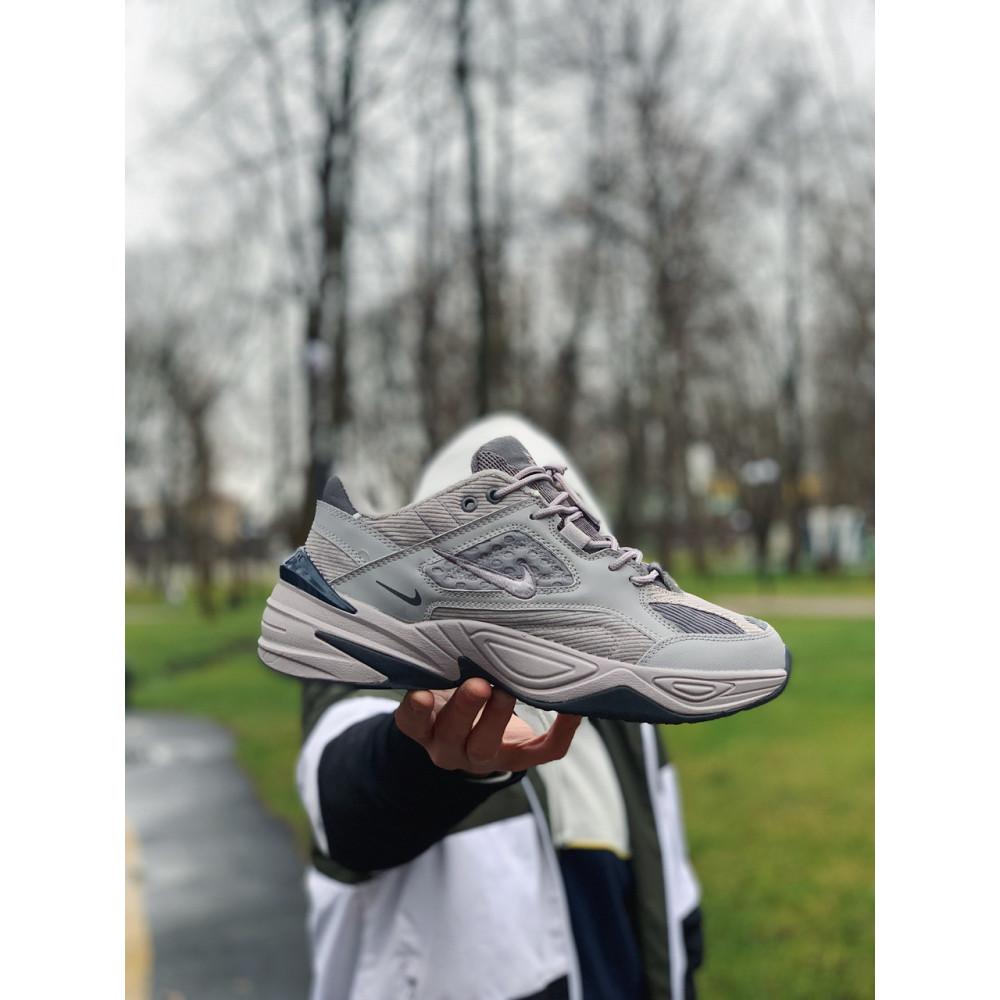 Мужские кеды кожаные - Кроссовки  натуральная кожа Nike M2K Tekno Найк М2К Текно (41,42,43,44,45) 9