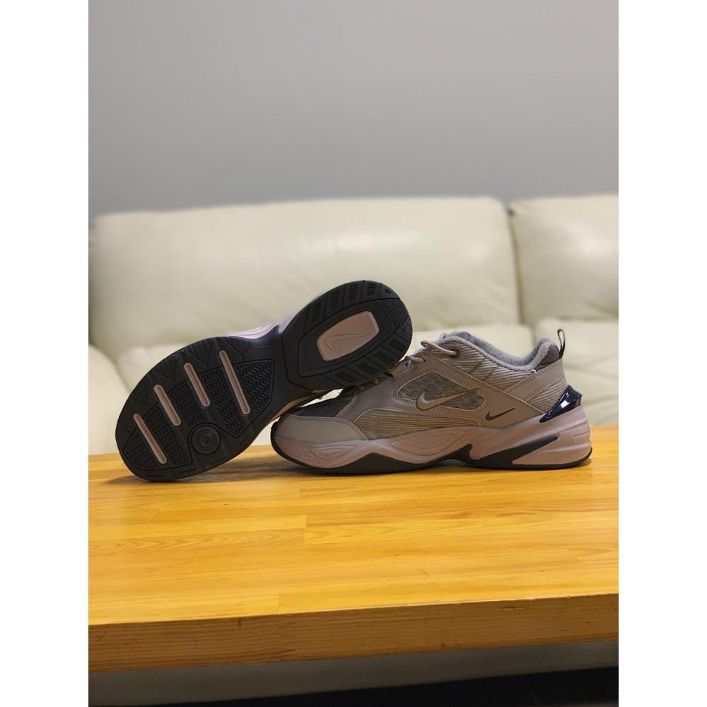 Мужские кеды кожаные - Кроссовки  натуральная кожа Nike M2K Tekno Найк М2К Текно (41,42,43,44,45) 4