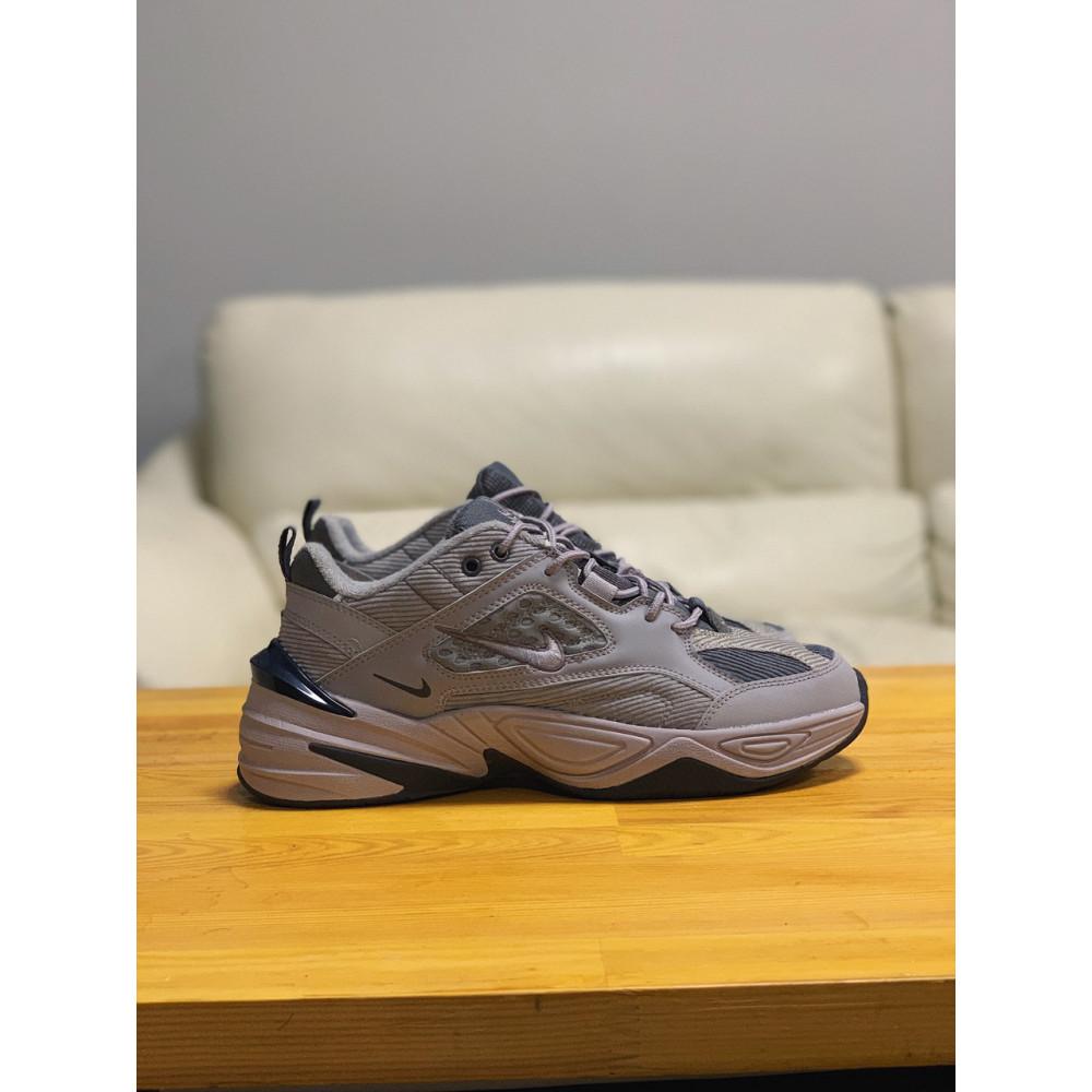Мужские кеды кожаные - Кроссовки  натуральная кожа Nike M2K Tekno Найк М2К Текно (41,42,43,44,45) 6