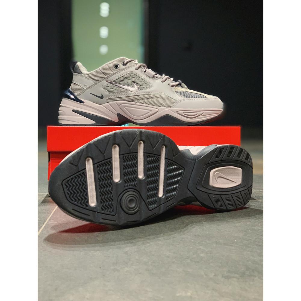 Мужские кеды кожаные - Кроссовки  натуральная кожа Nike M2K Tekno Найк М2К Текно (41,42,43,44,45) 3