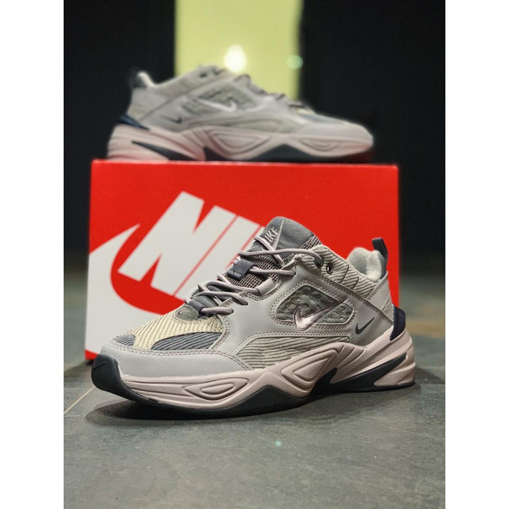 Мужские кеды кожаные - Кроссовки  натуральная кожа Nike M2K Tekno Найк М2К Текно (41,42,43,44,45) 2