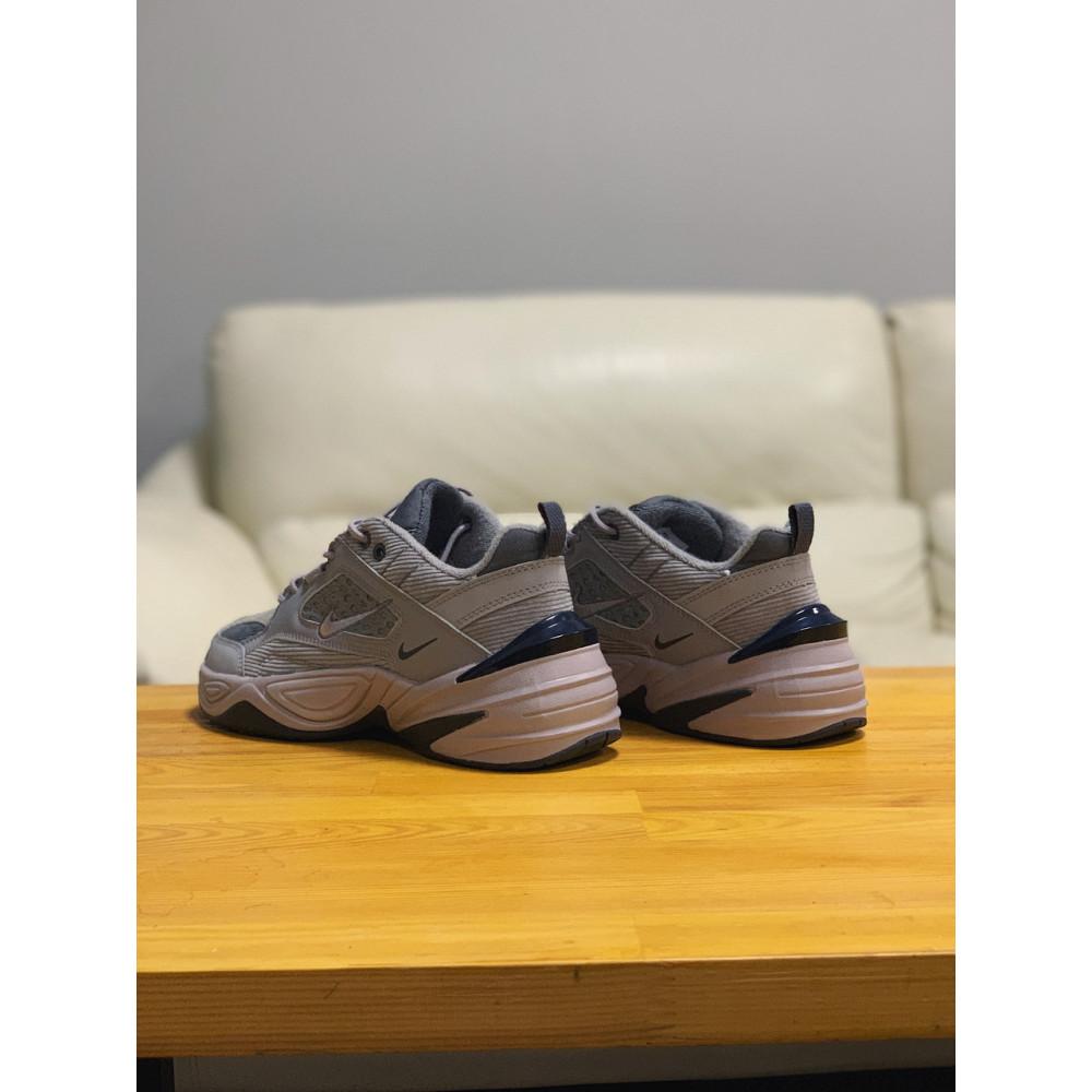 Мужские кеды кожаные - Кроссовки  натуральная кожа Nike M2K Tekno Найк М2К Текно (41,42,43,44,45) 5