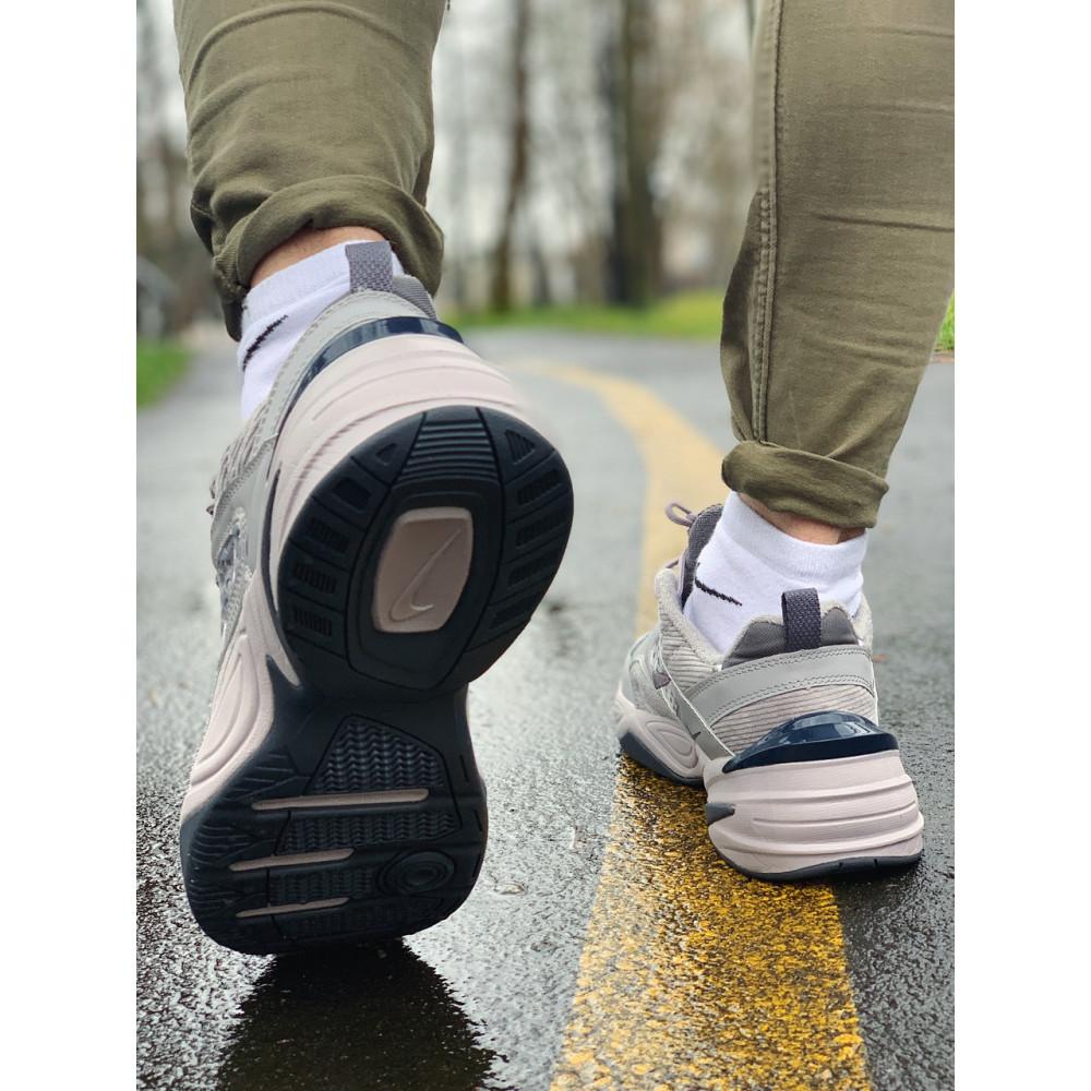 Мужские кеды кожаные - Кроссовки  натуральная кожа Nike M2K Tekno Найк М2К Текно (41,42,43,44,45) 7