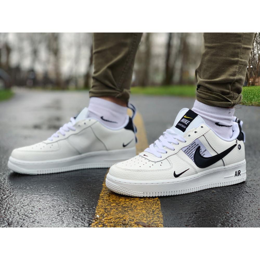 Демисезонные кроссовки мужские   - Кроссовки натуральная кожа Nike Air Force Найк Аир Форс (43,45)