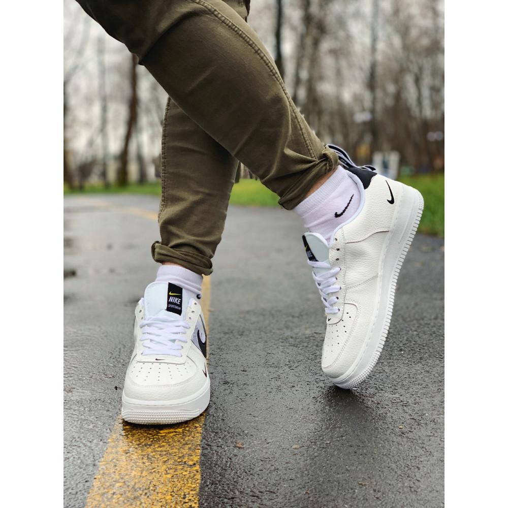 Демисезонные кроссовки мужские   - Кроссовки натуральная кожа Nike Air Force Найк Аир Форс (43,45) 9