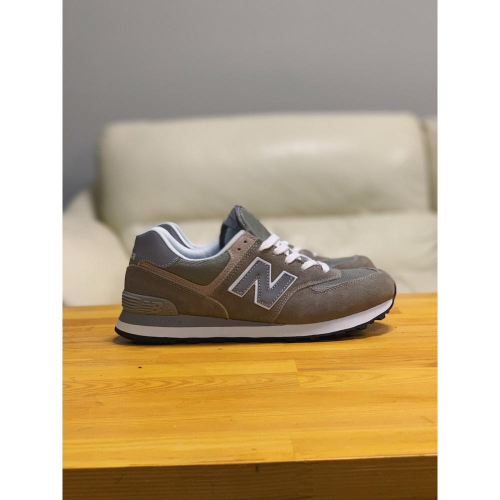 Демисезонные кроссовки мужские   - Кроссовки натуральная замша New Balance 574  Нью Беланс (41,42) 5