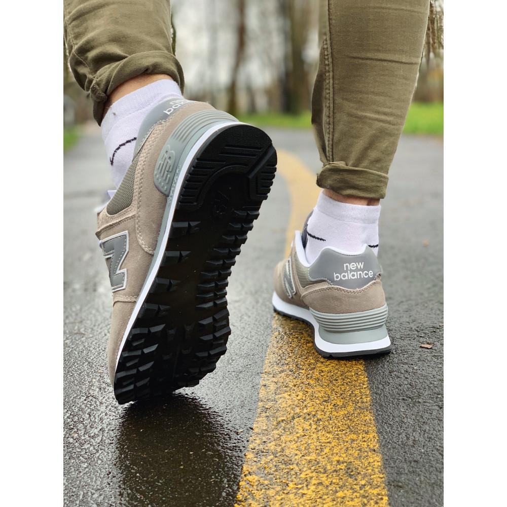 Демисезонные кроссовки мужские   - Кроссовки натуральная замша New Balance 574  Нью Беланс (41,42) 7