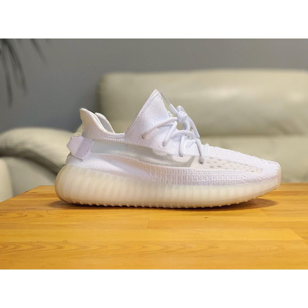 Беговые кроссовки мужские  - Кроссовки  Adidas Yeezy Boost 350 V2  Адидас Изи Буст В2   (42,43,44,45) 1
