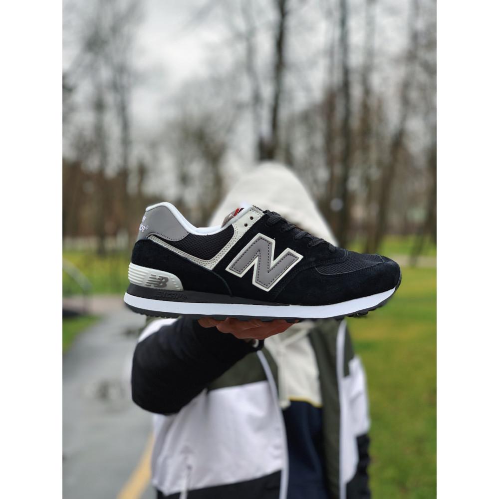 Демисезонные кроссовки мужские   - Кроссовки натуральная замша New Balance 574  Нью Беланс (41,42,43,44) 8