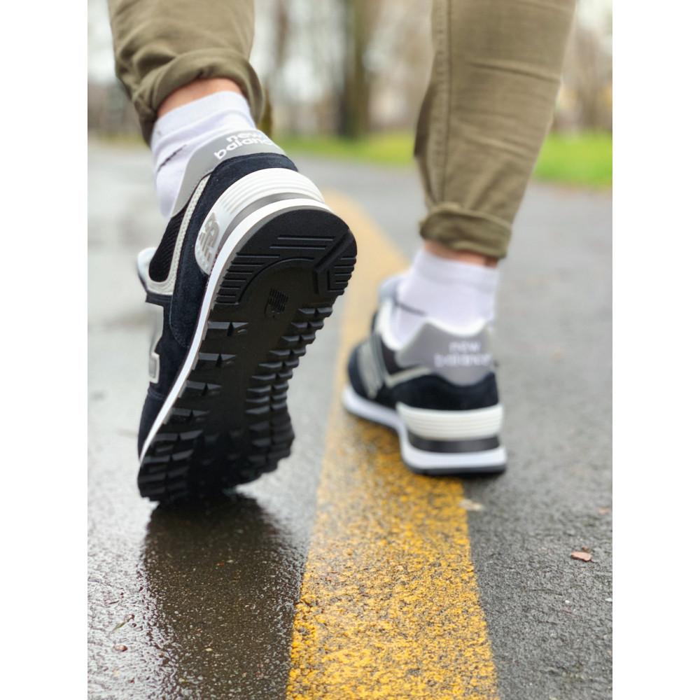 Демисезонные кроссовки мужские   - Кроссовки натуральная замша New Balance 574  Нью Беланс (41,42,43,44) 7
