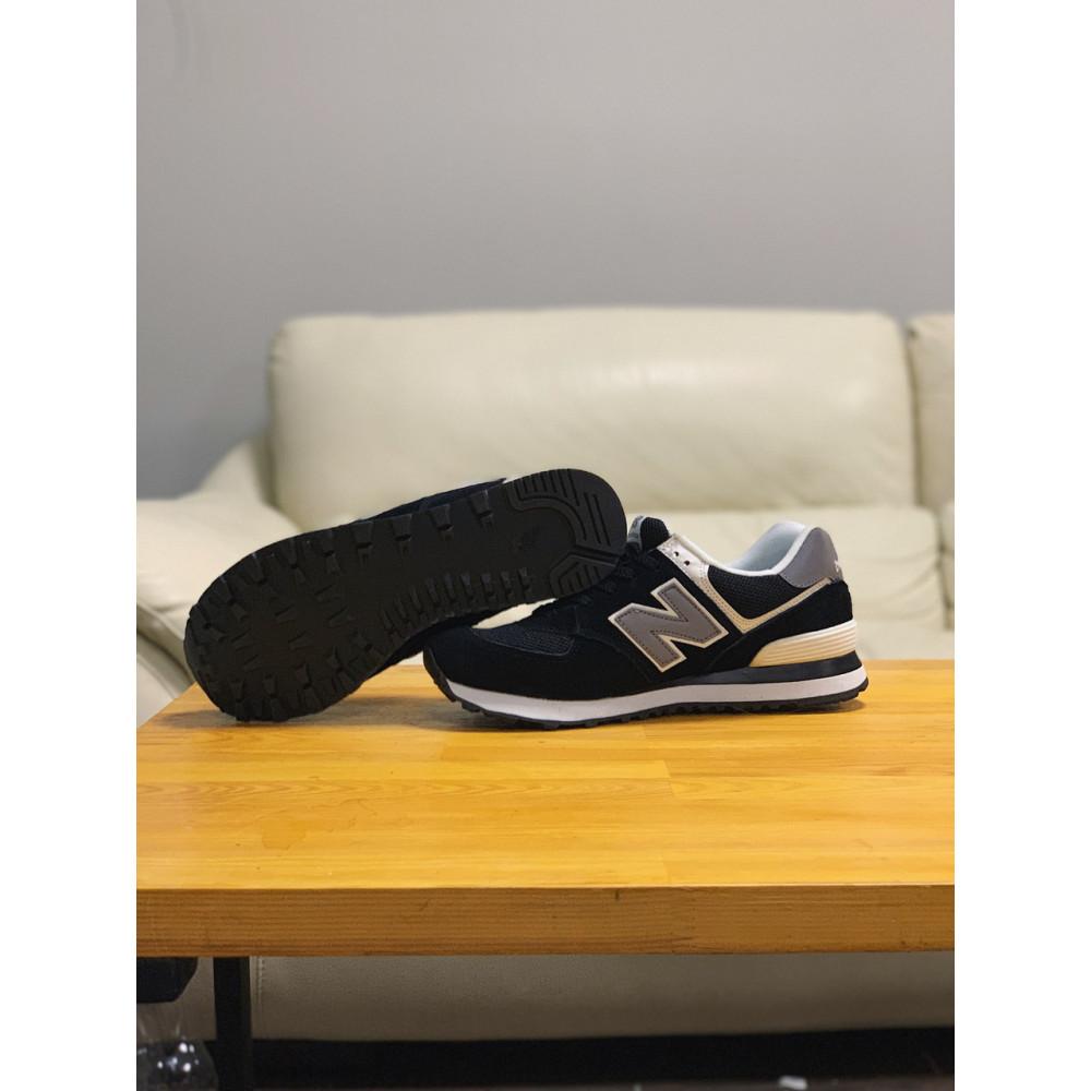 Демисезонные кроссовки мужские   - Кроссовки натуральная замша New Balance 574  Нью Беланс (41,42,43,44) 6