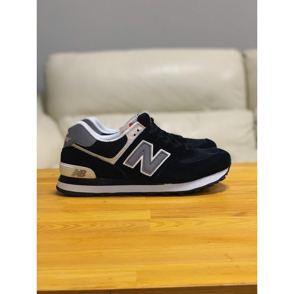 Демисезонные кроссовки мужские   - Кроссовки натуральная замша New Balance 574  Нью Беланс (41,42,43,44) 3