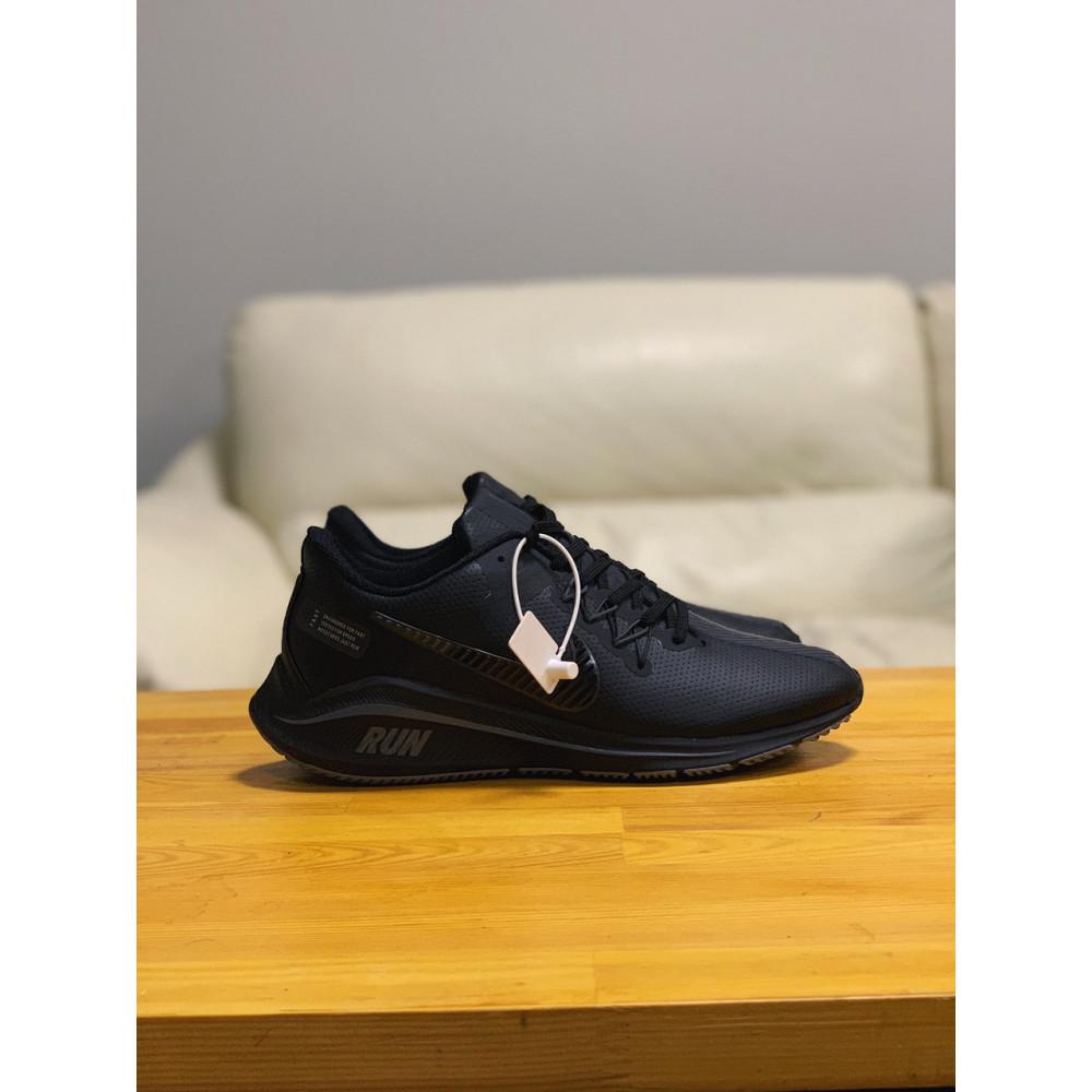 Кожаные кроссовки мужские - Кроссовки   натуральная кожа NIKE RUN  Найк Ран  ⏩ (41,42,43,44,45) 5
