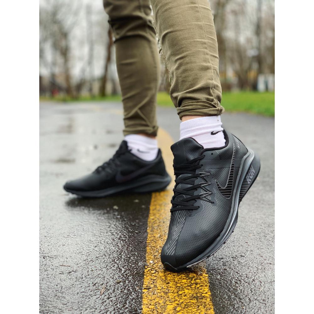 Кожаные кроссовки мужские - Кроссовки   натуральная кожа NIKE RUN  Найк Ран  ⏩ (41,42,43,44,45) 9