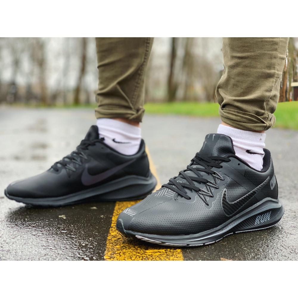 Кожаные кроссовки мужские - Кроссовки   натуральная кожа NIKE RUN  Найк Ран  ⏩ (41,42,43,44,45)