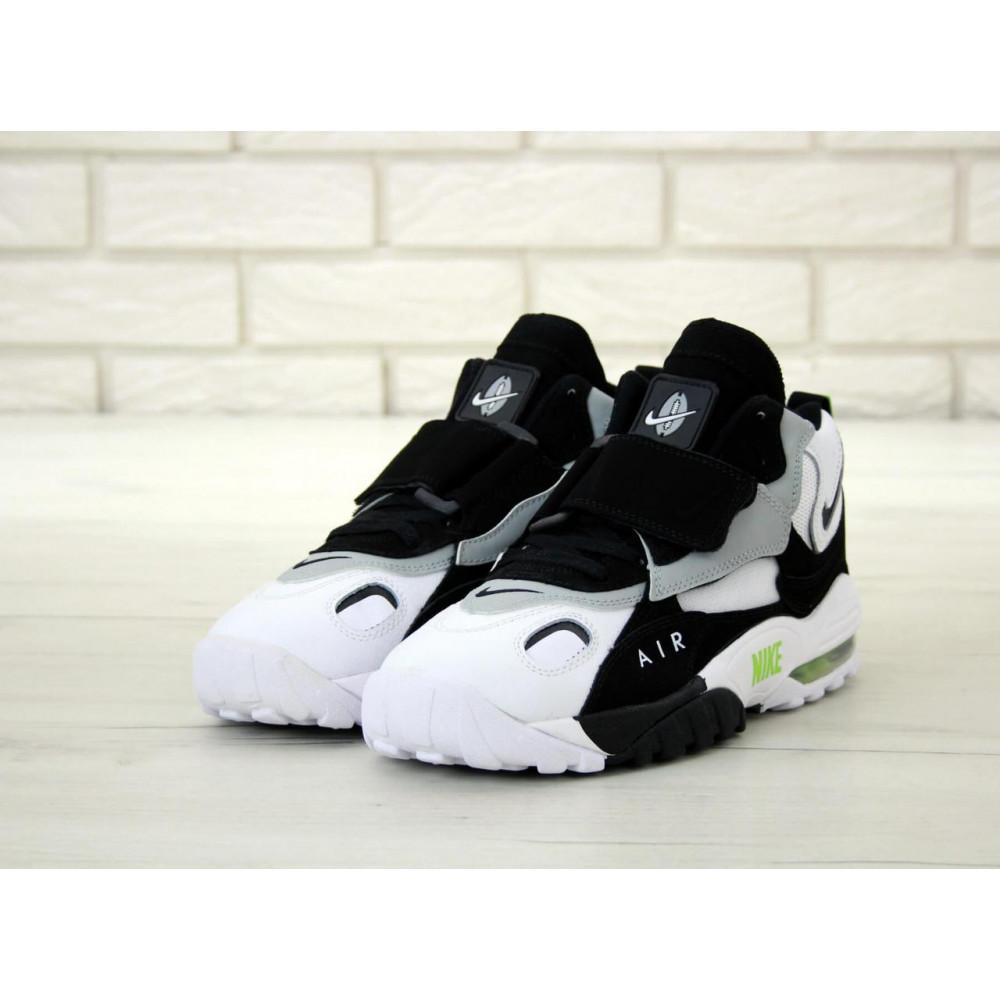 Демисезонные кроссовки мужские   - Мужские кроссовки Air Max Speed Turf Black Grey White 3