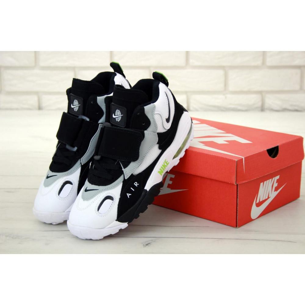 Демисезонные кроссовки мужские   - Мужские кроссовки Air Max Speed Turf Black Grey White