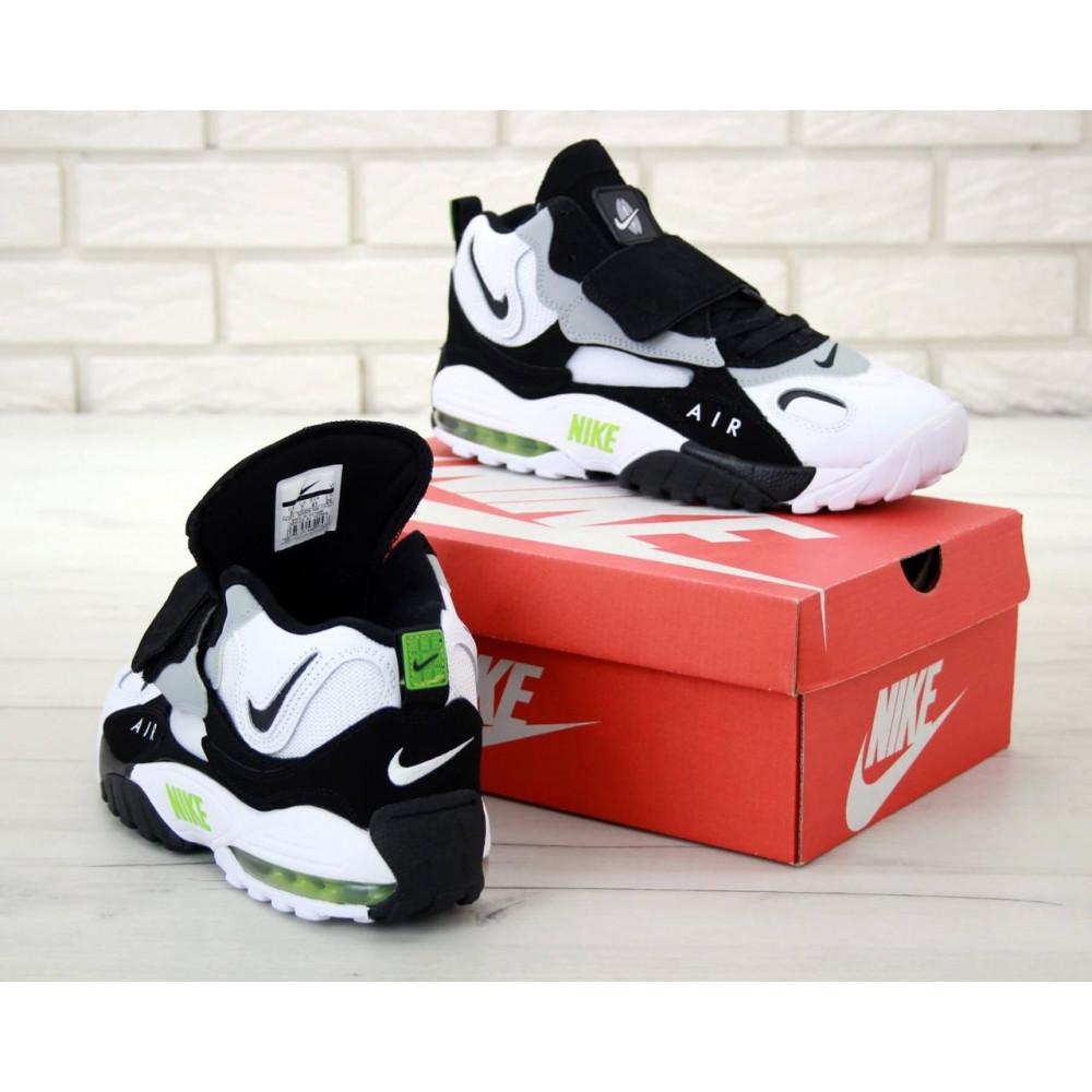 Демисезонные кроссовки мужские   - Мужские кроссовки Air Max Speed Turf Black Grey White 4