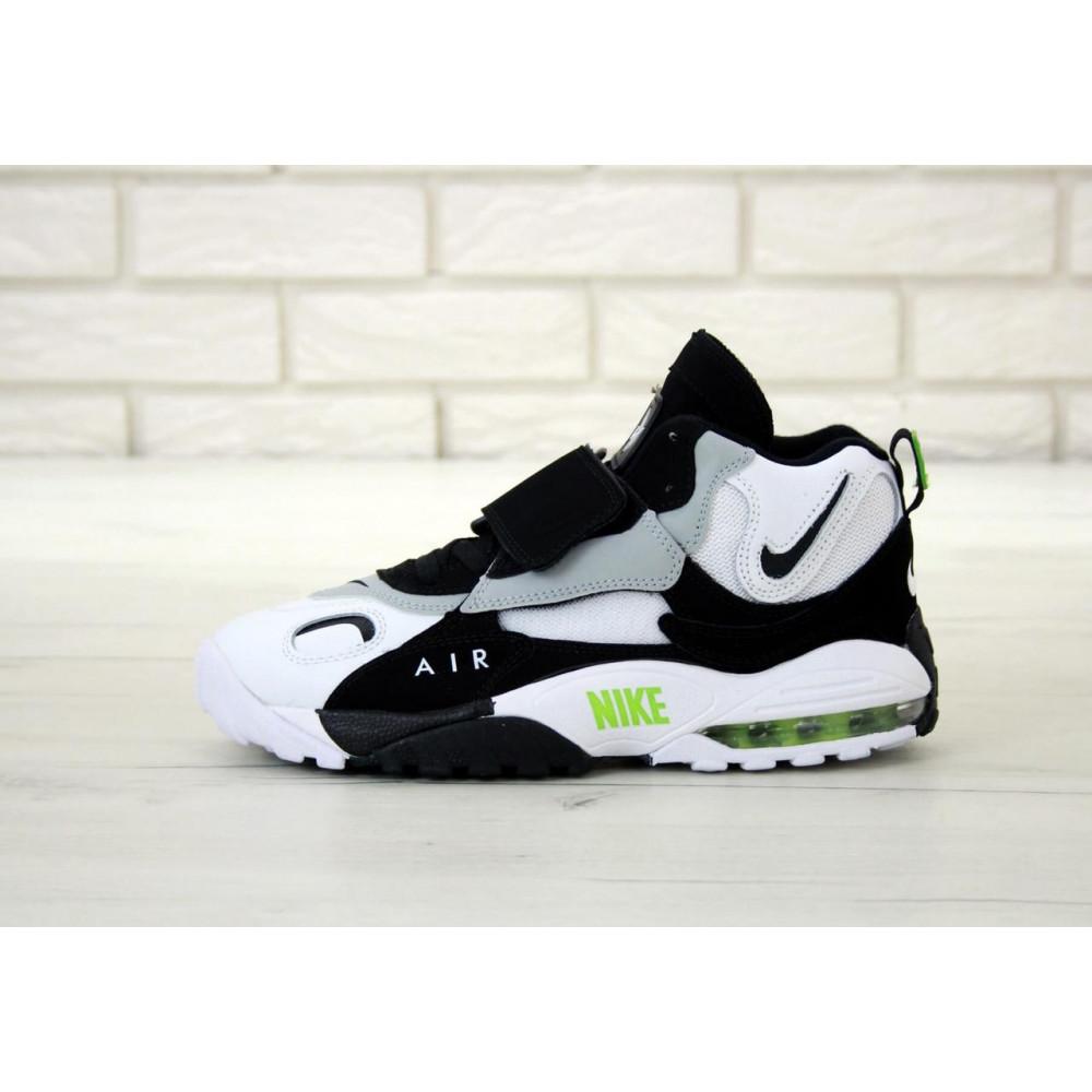 Демисезонные кроссовки мужские   - Мужские кроссовки Air Max Speed Turf Black Grey White 1